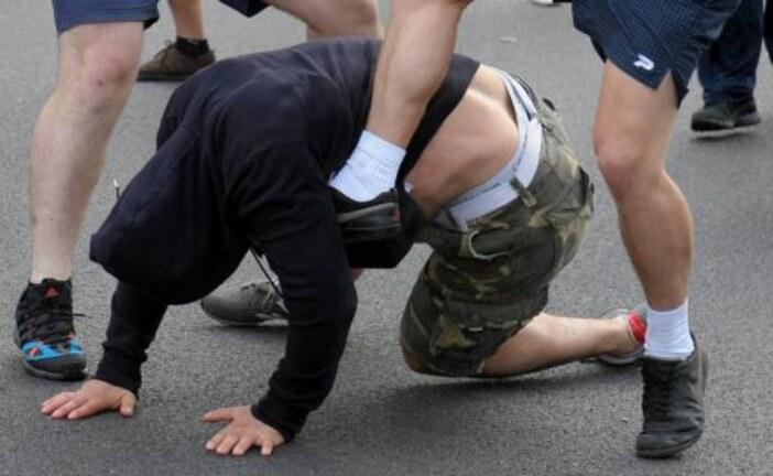 В Москве таксисты устроили массовое побоище (видео)                                  07.08.2018